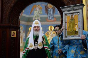 Патриарх Кирилл в Иванове