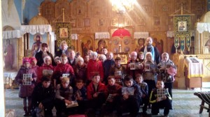 школа села Анькова в храме